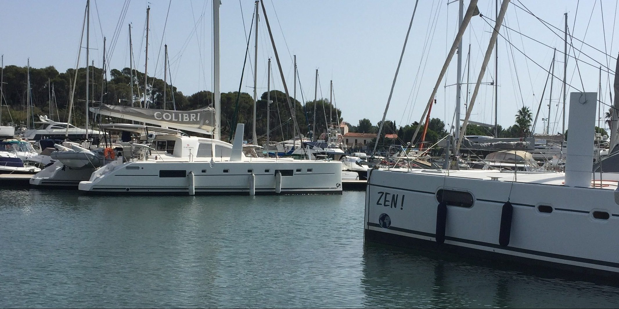Catarmaran Catana 55 delivered to Port Pin Rolland