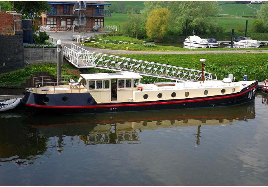 alt=70-foot Replica Dutch barge