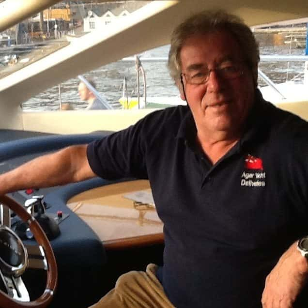 UK Yacht Deliver Skipper Tony Agar